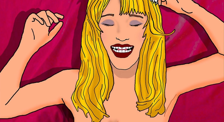 A groupie's tales: Pamela Des Barres' sexy stories of Morrison, Jagger & Waylon, now animated!