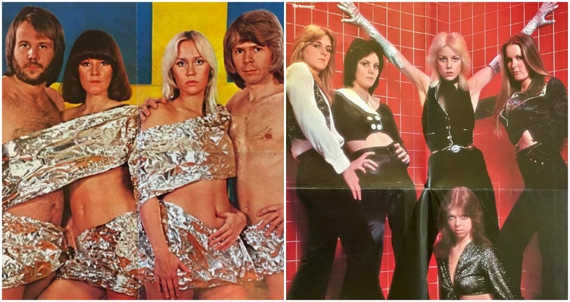 Frank Zappa's nude harem: Racy photos of The Runaways, ABBA & more from Swedish mag 'POSTER'