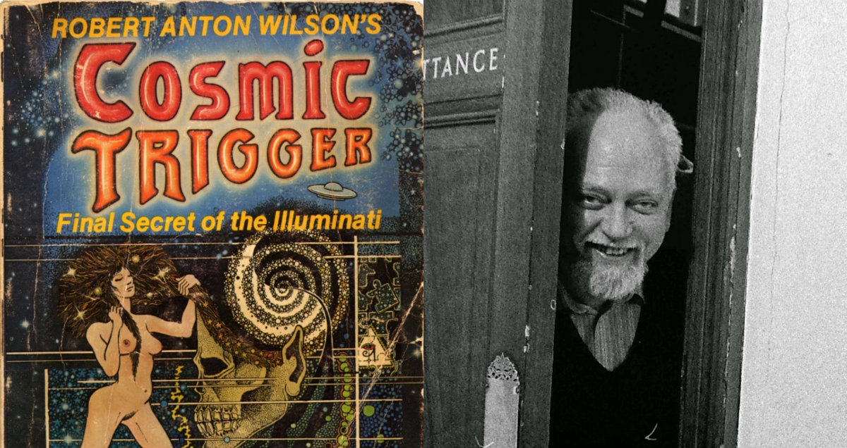 John Thompson's visionary artwork for Robert Anton Wilson's 'Cosmic Trigger'