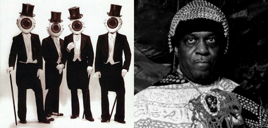 The Residents pay tribute to Sun Ra (and Barry White)