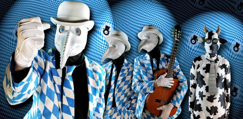 Exclusive video and music from the Residents' new album, 'Intruders'