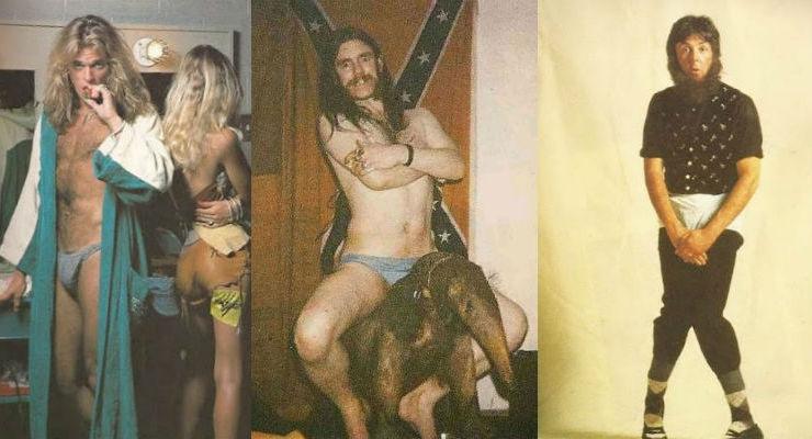 McCartney, Bowie, Lemmy, Debbie Harry appear in 'Rock Stars in Their Underpants'