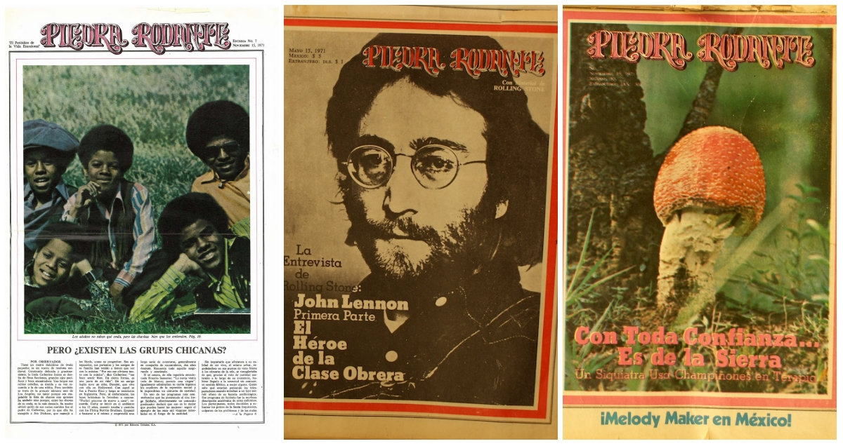 The short-lived Mexican edition of Rolling Stone that's been nearly lost to history
