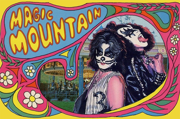 KISS, Sparks, & rock 'n' roller coasters: The legendary 'Magic Mountain' theme park of the 1970's