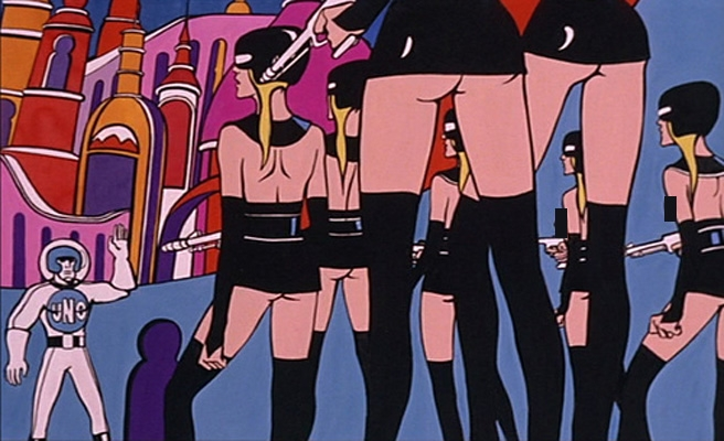 Pop art dreamworld: The amazing, sexy comic strip art of the 1967 film 'The Killing Game''