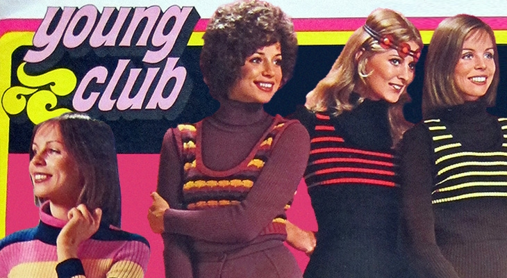 'Young Club' winter 1972: 21 pages from this incredibly retro German mail-order catalogue