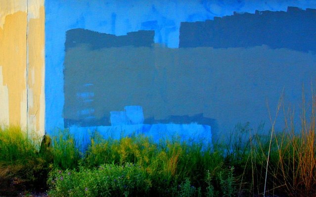 The unintentional beauty of graffiti removal
