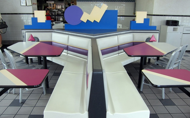 Retro wonderland: exploring the postmodern aesthetics of '90s Taco Bell interior design