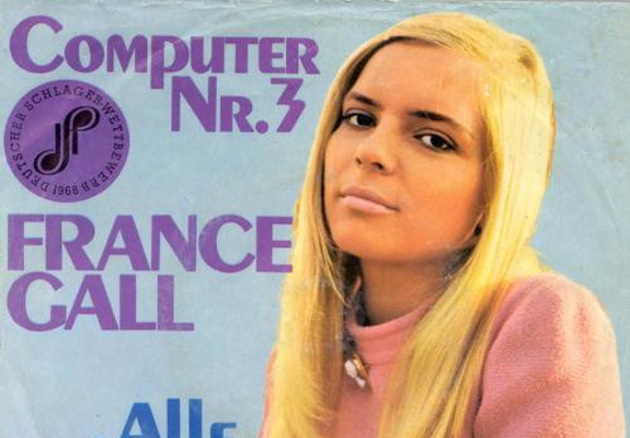 France Gall Sings About 'Computer Dating' In 1968