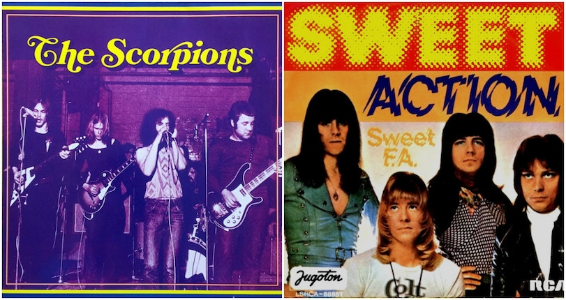 The Scorpions' stealthy, stellar Sweet covers on scarce '75 single