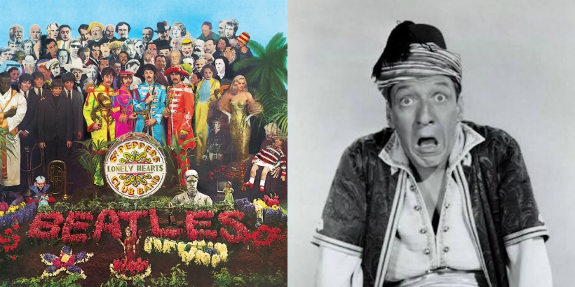 My grandfather is on the 'Sgt. Pepper's' album cover and here's the story
