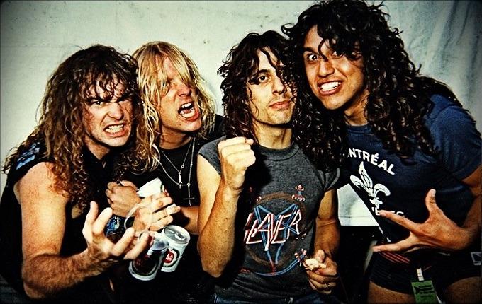 Slayer's Tom Araya belting Motley Crue, Priest, and Dio covers in 1983