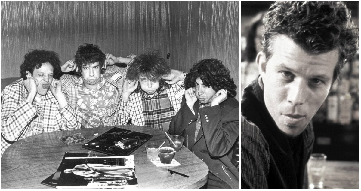 That time the Replacements & Tom Waits got shit-faced during an impromptu recording session, 1988