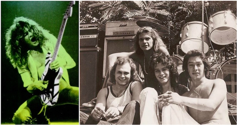 The night in 1976 when a pre-fame Eddie Van Halen OD'd and nearly died
