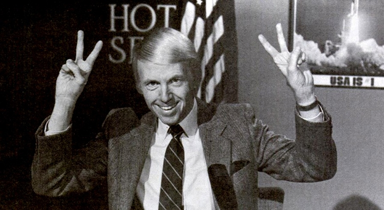 Listen up liberal loonies: Right-wing talk show host Wally George's 1984 novelty record