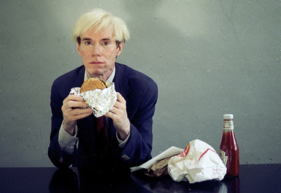 The Andy Warhol New York City Diet (or give your dinner to the homeless)