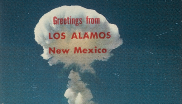 Wish you were vaporized: Charming postcards from the atomic age