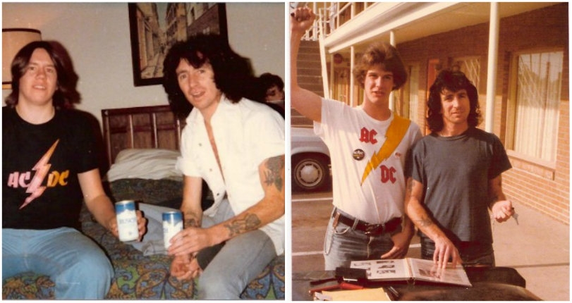 Heavy Metal Parking Lot: Photos of AC/DC hanging with a bunch of teenage super-fans in 1979