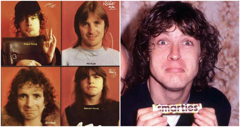 Big Balls: Rarely seen, intimate photos of AC/DC taken back in the 70s