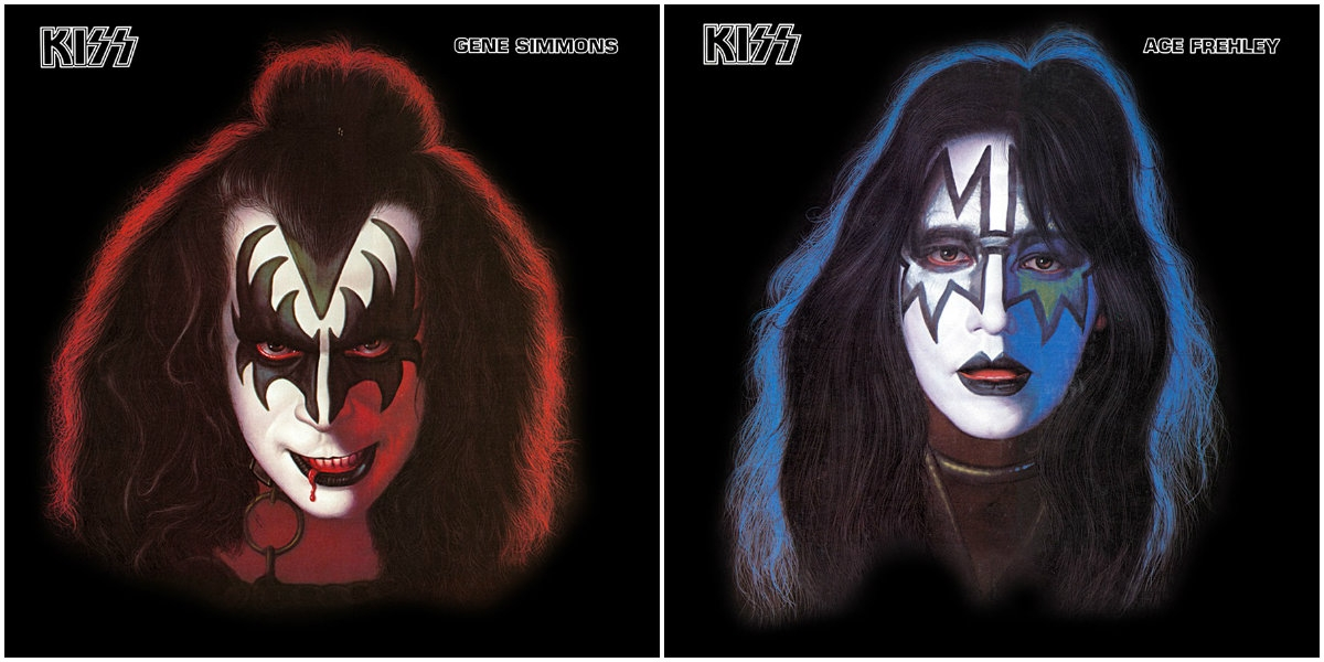 KISS fans pay premium to see unimaginably sad Gene and Ace guitar dick-around