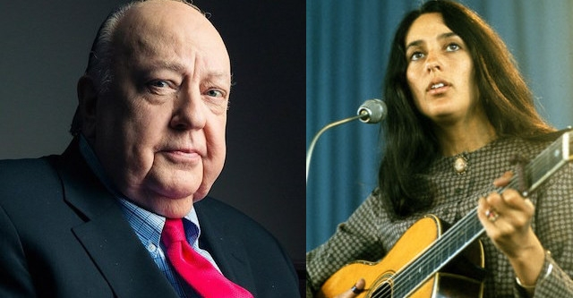 'Gandhi & Martin Luther King were great womanizers': That time Roger Ailes interviewed Joan Baez