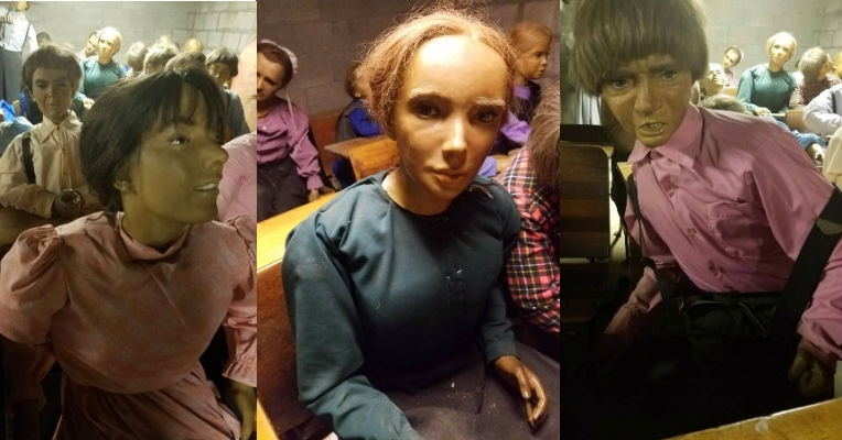 Bizarre wax Amish children for sale on Craigslist