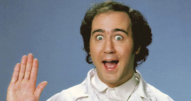 Andy Kaufman played an android butler in the little-known 1977 sci-fi sitcom pilot, 'Stick Around'