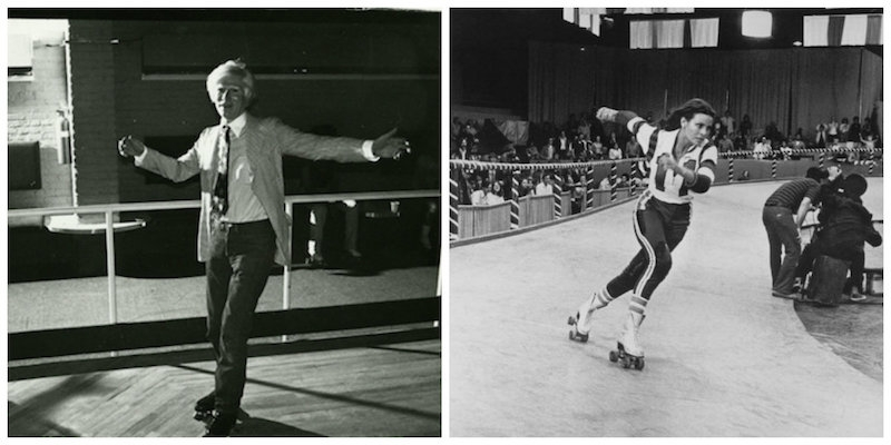 Andy Warhol, Grace Jones, Bettie Page & more roller skating (because roller skating rules!)