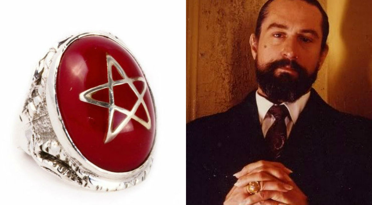 Iconic occult 'Angel Heart' Ring on sale today only for 30% off