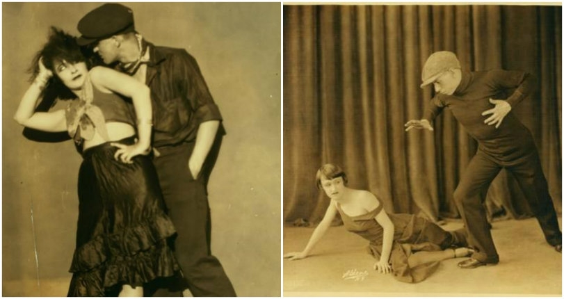 Vintage violence and the 'dance of death': Wild images of the 'Apache' dancers of Paris