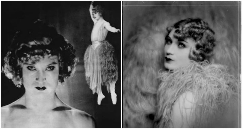 Androgynous aerial acrobat & 1920s female impersonator, the great 'Barbette'