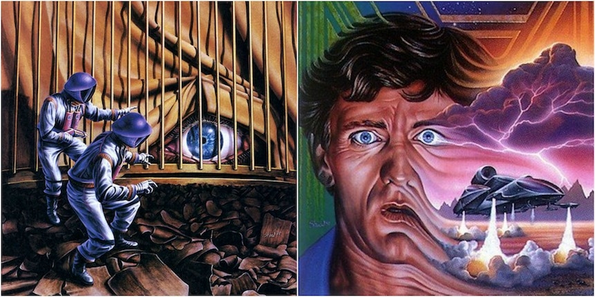The vivid sci-fi visions of American artist Barclay Shaw