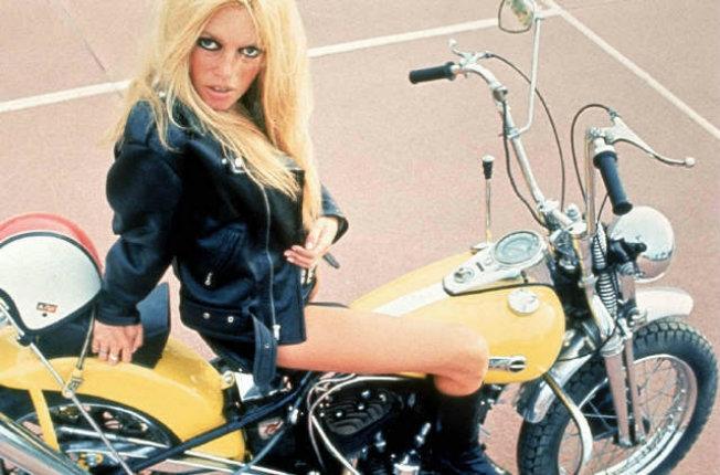 Brigitte Bardot, badass biker babe