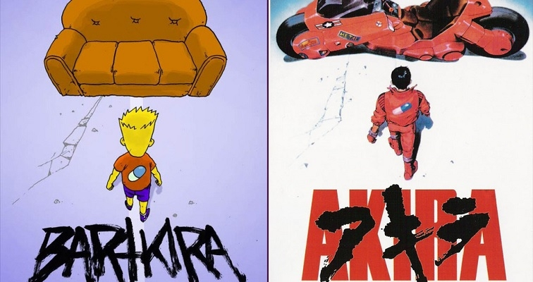 'Bartkira': Japanese anime classic 'Akira' gets Simpsonized