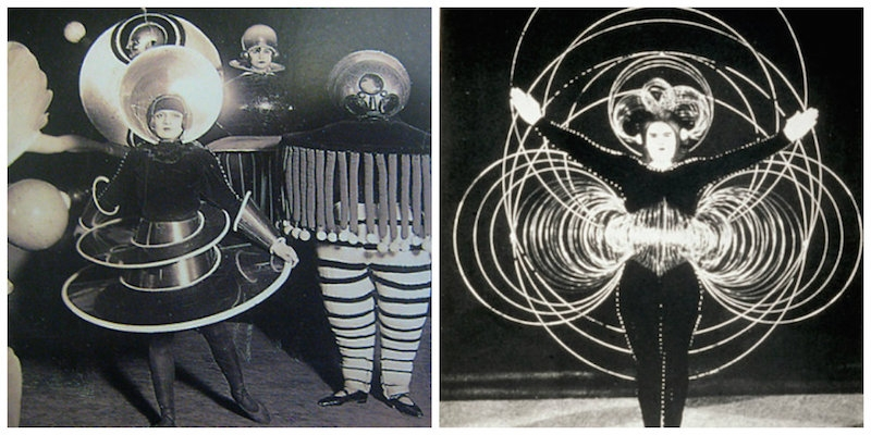 The far-out sci-fi costume parties of the Bauhaus school in the 1920s