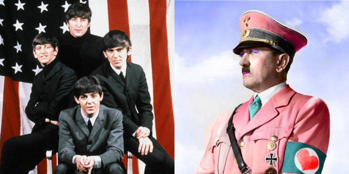 All you need is war: The Beatles vs. Hitler in the most fucked-up movie ever made