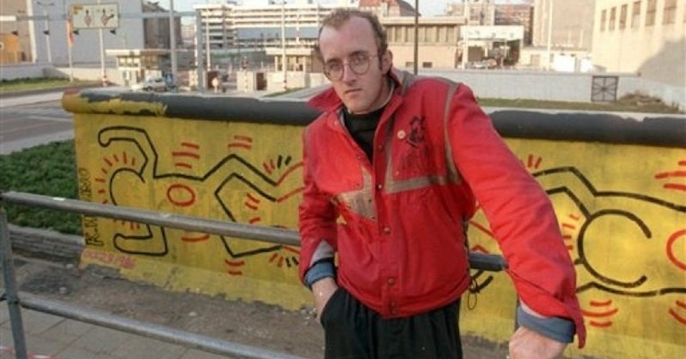 The story of Keith Haring's courageous Berlin Wall mural (which is now lost to history)