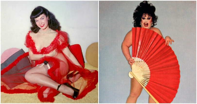 Divine joins Bettie Page on iconic Seattle mural