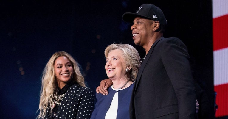 Some thoughts on seeing Beyoncé and Jay-Z's big concert for Hillary Clinton last night