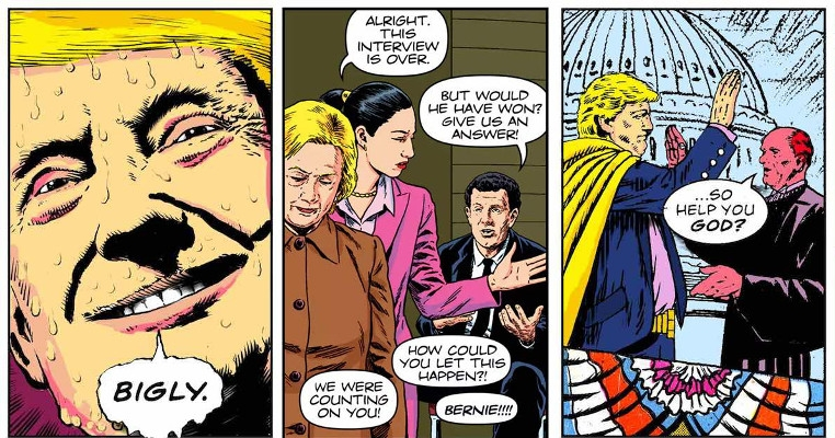 'Watchmen' remix tackles the godawful 2016 presidential campaign
