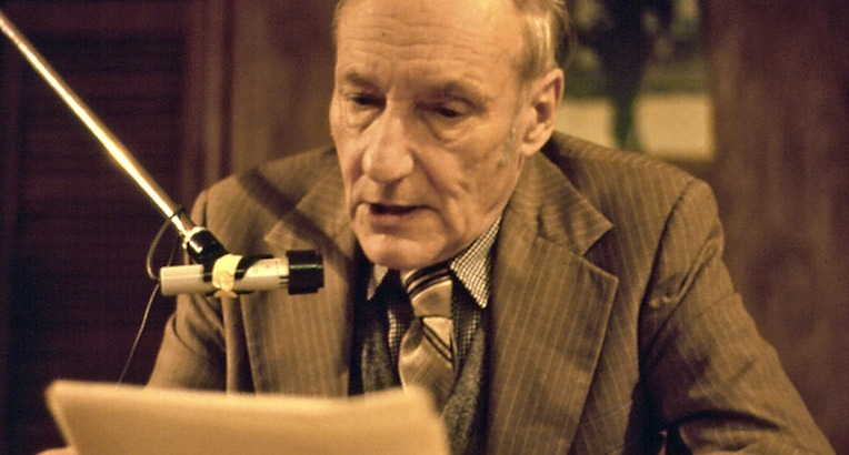Website plays William S Burroughs reading random snippets from 'Naked Lunch' every time you refresh