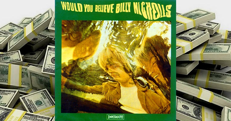 A Billy Nicholls LP recently sold for $10,000, so, um, who the hell IS this guy???