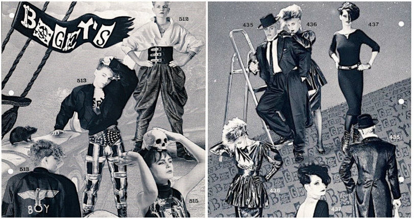 New Wave: Peek inside 'Bogey's Underground Fashion' catalog from the good old 1980s