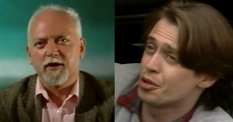 A young Steve Buscemi in 'Borders,' 1989 TV doc about the philosophy of Robert Anton Wilson