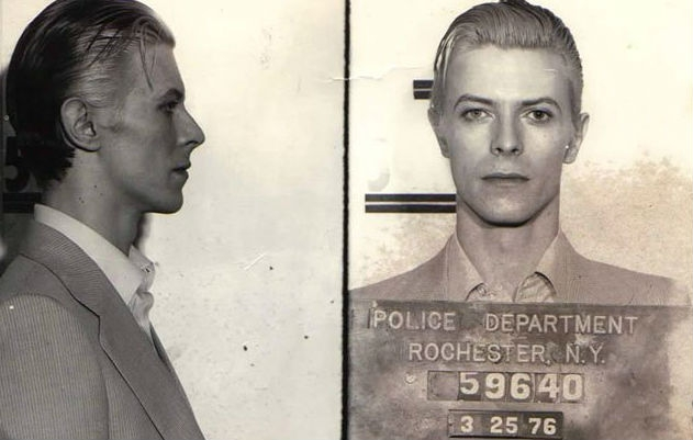 When Bowie got busted: Local news reports from his & Iggy's 1976 arrest for nearly a pound of weed