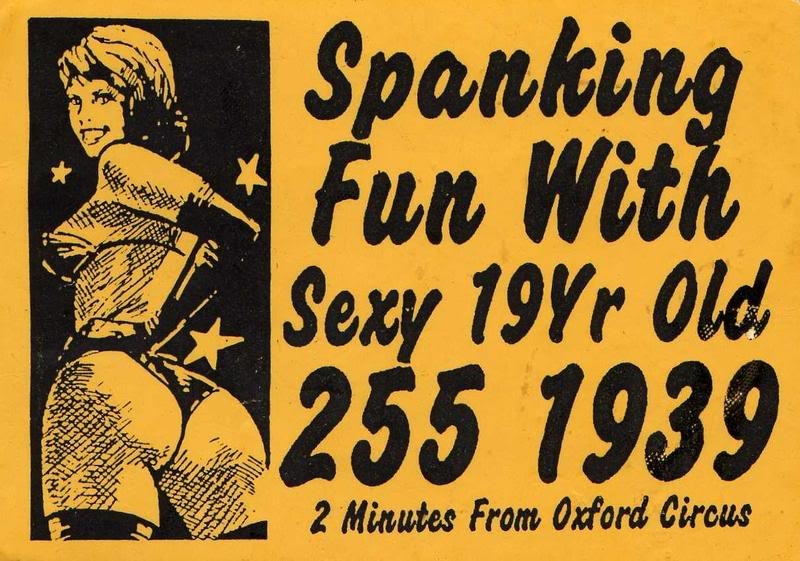 London Calling: A look at vintage 'tart cards' used by English prostitutes