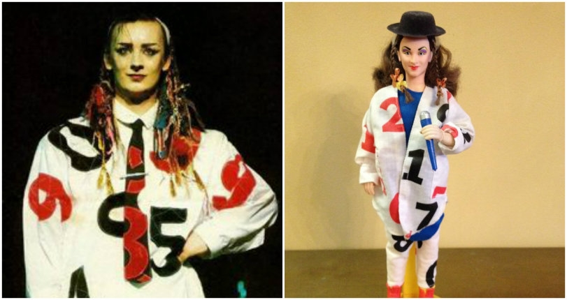 Behold the 'New Romantic' Barbie: A vintage 'Boy George' doll straight from 1984