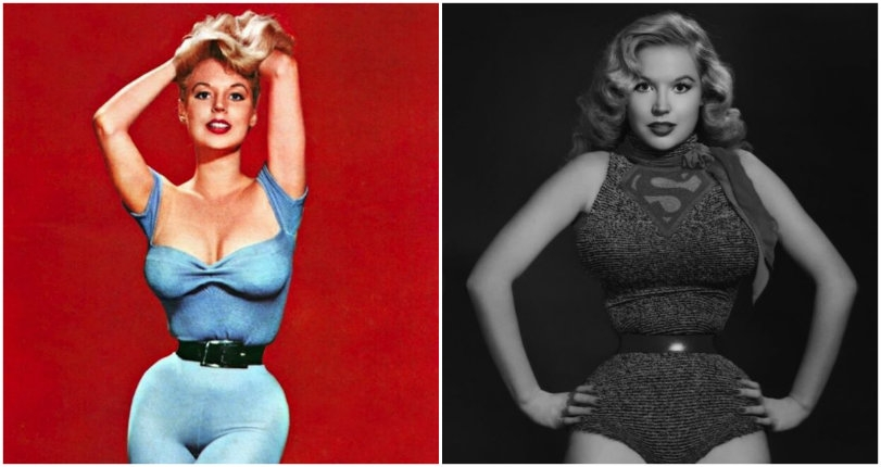 Before Marilyn Monroe & Jayne Mansfield, the dangerous curves of Betty Brosmer ruled the world