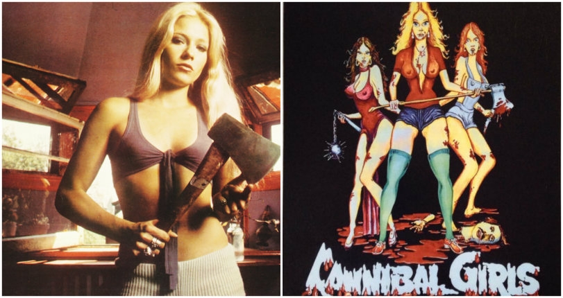 'Cannibal Girls': The naked ladies of this gory, sleazy 1973 horror spoof like to eat men