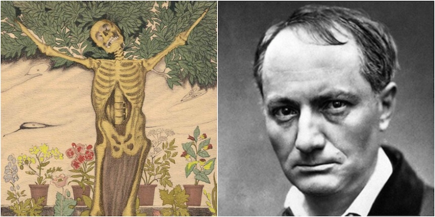 Erotic illustrations for Baudelaire's 'Les Fleurs du Mal'